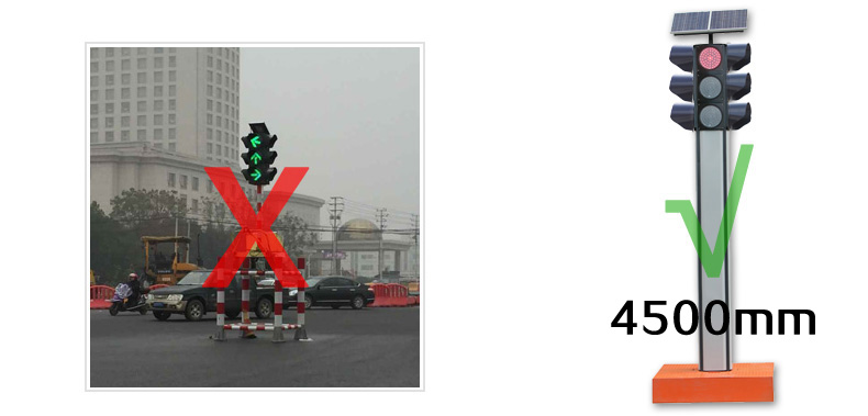 道路施工信号灯