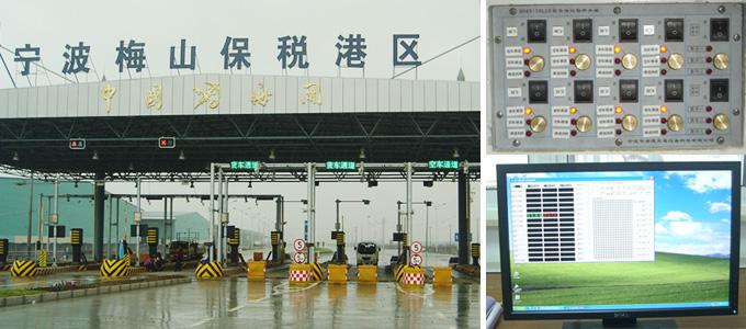 卡口LED显示屏控制系统组成图